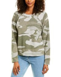 Monrow Supersoft Oversized Vintage Pullover - Multicolor