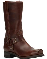 Frye Harness 12r Boot - Brown