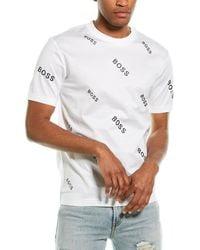 BOSS by Hugo Boss Tiburt T-shirt - White