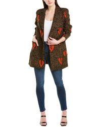 Valentina Shah Martina Wool-blend Blazer - Brown