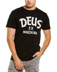 Deus Ex Machina Curvy T-shirt - Black