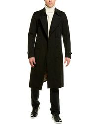 Burberry The Long Heritage Trench Coat - Black