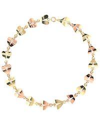 Heritage Tiffany & Co. Tiffany & Co. 14k Two-tone Collar Necklace - Metallic
