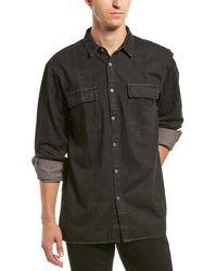 Zanerobe Denim Shirt - Black