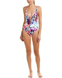 6 Shore Road By Pooja Sunrise One-piece - Blue