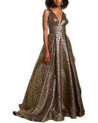 Mac Duggal Gown - Metallic