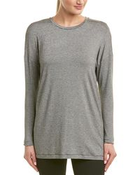 Lafayette 148 New York Dropped-shoulder Top - Black