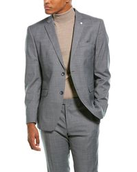 Original Penguin 2pc Wool-blend Suit - Gray