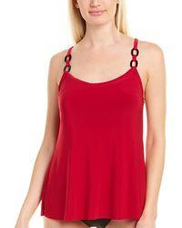 Magicsuit Kate Tankini Top - Red