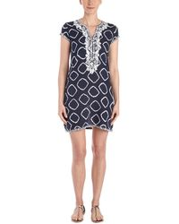 Sulu Collection Alex Hand-embroidered Dress - Multicolour