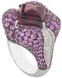 Heritage - Oro Trend 18k 8.20 Ct. Tw. Diamond & Gemstone Ring - Lyst