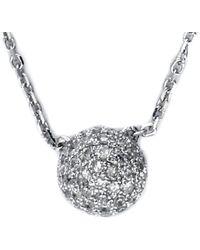 Effy - 14k 0.23 Ct. Tw. Diamond Necklace - Lyst