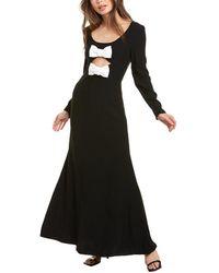 STAUD Lido Maxi Dress - Black
