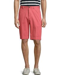 Brooks Brothers - Stretched High Rise Bermuda Short - Lyst