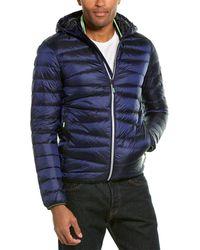 Superdry Clarendon Coat - Blue