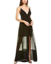 Nicole Miller Silk Gown - Black