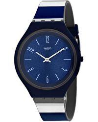 Swatch Skincarat Watch - Blue