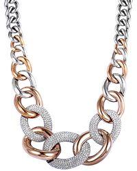 Swarovski Crystal Necklace - Metallic