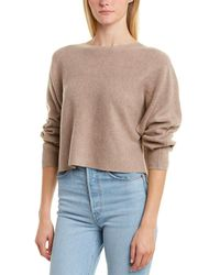 Monrow Rib Wool & Cashmere-blend Sweater - Multicolor