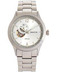 Heritor Men's Antoine Watch - Metallic