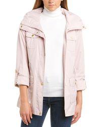 Cole Haan Medium Rain Jacket - Pink