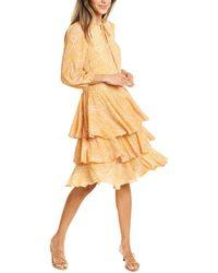 Traffic People Talulah A-line Dress - Yellow