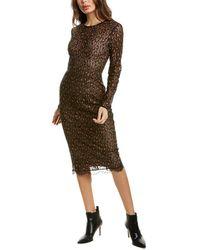 Dress the Population Kay Midi Dress - Black