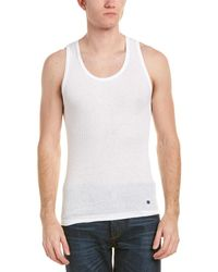 Lucky Brand Pack Of 3 Ribbed Tank Tops - White