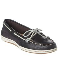 Sperry Top-Sider Firefish Leather Boat Shoe - Black