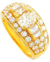 BVLGARI Bulgari 18k 1.72 Ct. Tw. Diamond Ring - Metallic