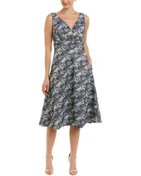 Kay Unger A-line Dress - Black