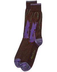 Robert Graham Casablanca Socks - Brown