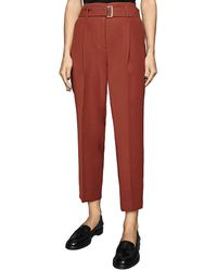 Reiss Cacey Trouser - Red