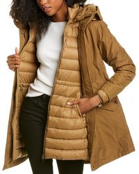 Woolrich 3-in-1 Eco Military Down Parka - Brown