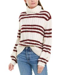 A.L.C. Striped Sweater - White