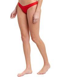 Monica Hansen V-bottom - Red
