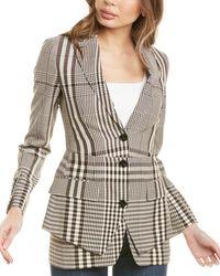 Burberry - Tailored Wool-blend Blazer - Lyst