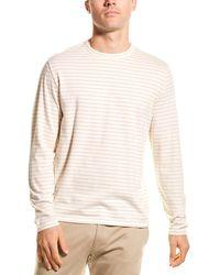 Vince Striped T-shirt - White