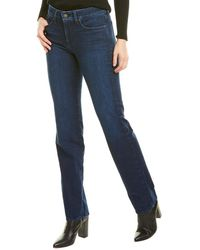 NYDJ Marilyn Denslowe Straight Leg Jean - Blue
