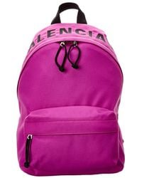 Balenciaga Wheel Small Backpack - Purple