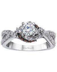 Le Vian ? Grand Sample Sale 14k Vanilla Gold? 0.97 Ct. Tw. Diamond Ring - Metallic
