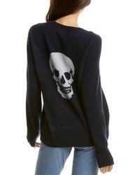 Skull Cashmere Cammeline Cashmere Jumper - Blue