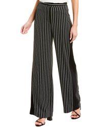 BCBGMAXAZRIA Striped Pant - Black