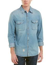 AG Jeans - Benning Woven Shirt - Lyst