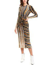 Ronny Kobo Lisette Midi Dress - Black