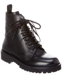 Valentino Combat Boot - Black