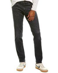 J Brand Tyler Rutum Taper Leg Jean - Black