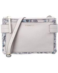 Fiorelli Brie Leather Crossbody - White