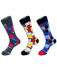 Unsimply Stitched - 3pk Crew Socks - Lyst