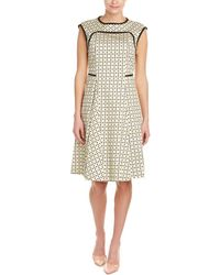 Piazza Sempione A-line Dress - Green